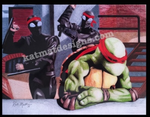#tmnt #raphael #turtle #drawing #coloredpencil