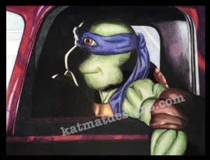 #Turtle #Drawings #tmnt #coloredpencil