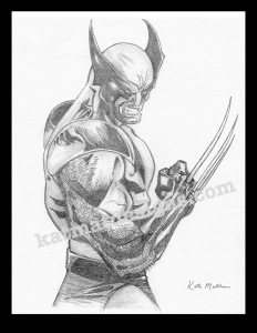 #wolverine #graphite #drawing #xmen #fanart #comic