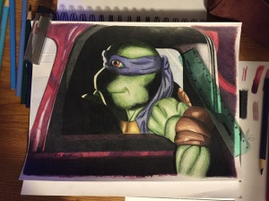 Donatello Drawing